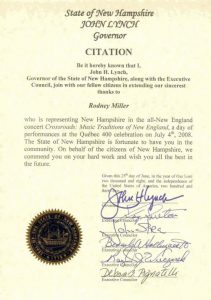 Citation by Gov. Hassan